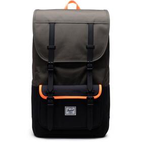 Herschel Little America Pro Backpack, olijf/zwart